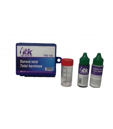 Estuche comparador Test kit dureza total agua