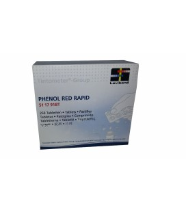 Recambio tabletas reactivo medición Red Phenol Lvd. Recarga 250 Ud. Rapid / Manual. 51 17 91BT