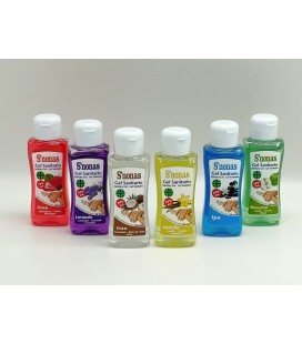 Gel Sanitario S´nonas Aromas 100 ml Pack 12 Uds