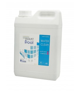 Waterclean: Clarificador natural para piscinas y spas. Botella 1.5 Lt.