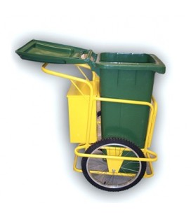 Carro de limpieza viaria 1 cubo - Street Cleaning Cart