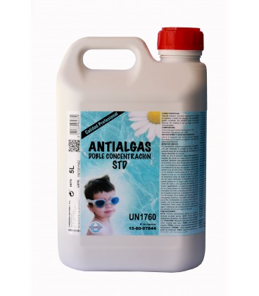 Antialgas doble concentración STD. Botella 5 Lt.